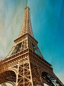 The Eiffel Tower (nickname La dame de fer, the iron lady),The tower has become the most prominent sy