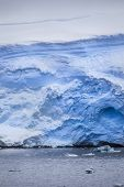 Antarctic Iceberg From The Water
