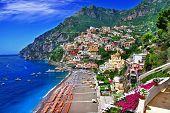 deslumbrante Costa Amalfitana. Positano