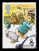 Britain Beatrix Potter Postage Stamp