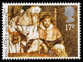 Britain Arthurian Legends Postage Stamp