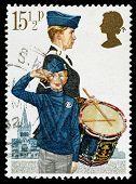 Britain Boys Brigade Postage Stamp