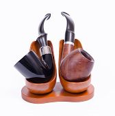 Holmes and Watson pipes