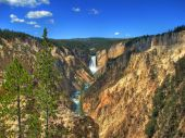 Wyoming - Yellowstone Canyon Hdr