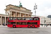 Sightseeing Tour Bus In Berlin