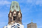 Tower Of Kaiser Wilhelm Memorial Church
