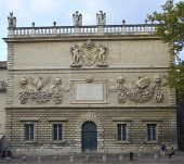 The Hotel des Monnaies is the earliest private Baroque monument in Avignon
