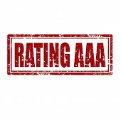 Rating Aaa-stamp