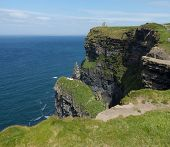 Headland At Cliffs Of Moher