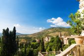 Traditional Toscana Italy Landscape poster