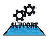Modern support icon