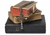 Antique Bibles & Cross