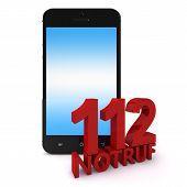 Постер, плакат: 112 Phone