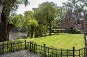 Park In Brugge, Belgium.