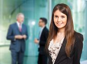 foto of entrepreneurship  - Portrait of a smiling businesswoman - JPG