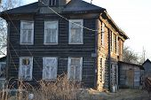 Farmhouse In The Village Of Ust-slavyanka, Russia.