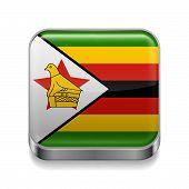 Metal  icon of Zimbabwe