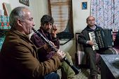 Musicians In Greece