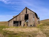 Old Barn On The Palouse.