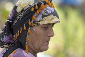 Woman Wearing Headscarf 5