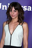 LAS VEGAS - APR 8:  Stephanie Szostak at the NBCUniversal Summer Press Day at Huntington Langham Hot