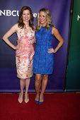 LAS VEGAS - APR 8:  Lennon Parham, Jessica St. Clair at the NBCUniversal Summer Press Day at Hunting