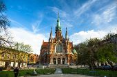 KRAKOW, POLAND - APR 8, 2014: Church Joseph - a historic Roman Catholic church in south-central part