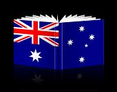 Open Book -flag Australia