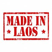 Made In Laos-stamp