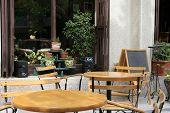 Outdoor Cafe Bar poster