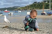 Child At Harbour Beach