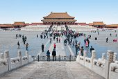 Forbidden City In Beijing