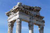 Top Of Trajan Temple