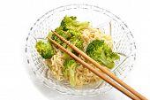 Fancy Ramen Noodles With Chop Sticks