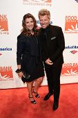 NEW YORK-APR 9: Dorothea Hurley and recording artist Jon Bon Jovi attend the Food Bank for New York City's Can Do Awards Dinner Gala at Cipriani Wall Street on April 9, 2014 in New York City.