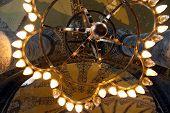 Lamp In Aya Sophya