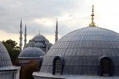 Domes In Istanbul