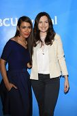 PASADENA - APR 8: Daniella Alonso, Jill Flint at the NBC/Universal's 2014 Summer Press Day held at t