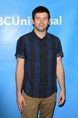 PASADENA - APR 8: Brent Morin at the NBC/Universal's 2014 Summer Press Day held at the Langham Hotel