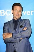 PASADENA - APR 8: Grant Bowler at the NBC/Universal's 2014 Summer Press Day held at the Langham Hote
