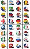 Soccer Championship Nations Set