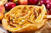 Apple Pie With Fresh Fruits