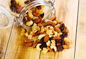 Mixed Nuts And Dried Fruits