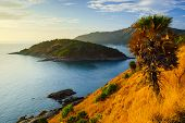 Phromthep Cape At Sunset  Phuket, Thailand