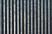 The Vertical Bars Of Zinc As Background