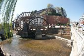 Water Wheel ,landmark Of Lijiang.