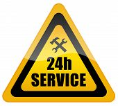 24 service sign
