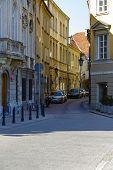 Kozia Street In Warsaw