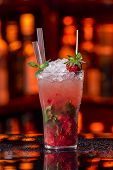 Strawberry Fruit Mojito