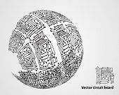 Circuit Board Sphere